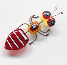 Resultado de imagen para fused glass bugs