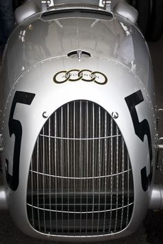 Auto Union / Audi vintage race car grill