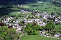 Castleton, Derbyshire, a village very similar to the fictional Middle Wogglehole in The Sphere of Septimus http://simon-rose.com/books/the-sphere-of-septimus/