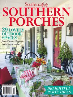 Small Front Porches, Screened In Porch, Porch Swing, Summer Front Porches, Southern Porches, Country Porches, Country Porch Decor, Cottage Porch, Country Cottages