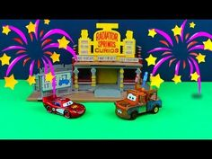 Disney Pixar Cars Rivals Race-Off Track Set Including Lightning McQueen Just4fun290 - YouTube