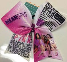 Bows by April - Mean Girls Full Glitter Cheer Bow, $15.00 (http://www.bowsbyapril.com/mean-girls-full-glitter-cheer-bow/)