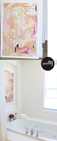I love Jen Ramos' art!  I love the colors - so000 girly but can totally fit into any decor even masculine rooms....