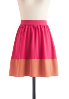 $47.99 Sway and Simple Skirt, #ModCloth
