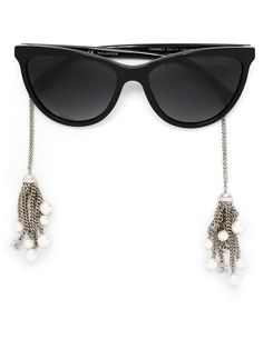 """Comprar Chanel gafas de sol """"Pearl"""" en André Opticas from the world's best independent boutiques at farfetch.com. Shop 300 boutiques at one address."""