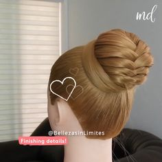 If you wanna look amazing, do this hairstyle! By: @BellezasinLimites