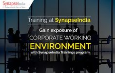 SynapseIndia Training facility in Noida helps B.Tech. and MCA students: Gain…