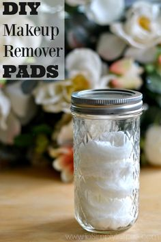 Quick and easy steps to make your own DIY Makeup Remover Pads. Made with simple ingredients and no harsh chemicals to irritate your skin.