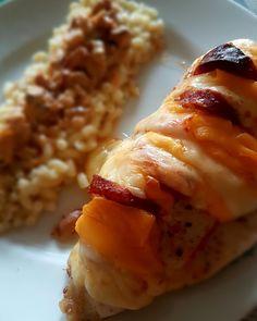 Poulet au four Chedar chorizo emental