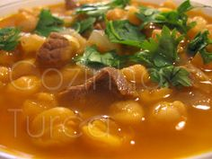 Cozinha Turca: Estufado de Grão-de-bico com Vitela (Etli Nohut)