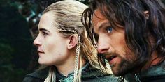 Legolas and Aragorn. Their friendship is awesome.