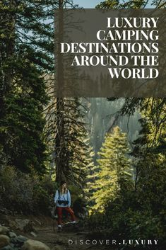 If you're looking to go glamping all over the world these are the travel destination for you. From luxury tents to gorgeous landscapes. It's sustainable and zero-waste travel with a luxury twist. Luxury Camping, Luxury Travel, Travel Usa, Luxury Tents, Luxury Hotels, Relax Day Spa, Hotel Ads, Go Glamping, Walking In Nature