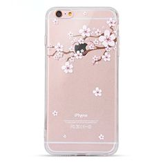 iPhone 6s Case, Geekmart iPhone 6s Case Clear Soft Silicone Back Cover for 4.7 inches iPhone 6/iPhone 6s GM010-F: $5.25