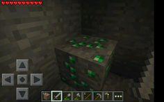 First day emeralds!!! #myminecraft