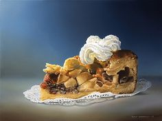 Peintures photoréalistes alimentaires par Tjalf Sparnaay Photo