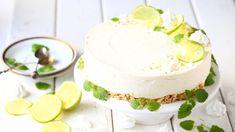 Taivaallinen limejuustokakku, liivatteeton - Suklaapossu Dessert Recipes, Desserts, Vanilla Cake, Oreo, Cheesecake, Baking, Sweet, Food Ideas, Cakes