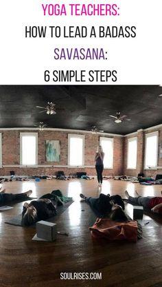 Yoga teachers: Here are 6 tips on leading a badass savasana in your class. Yoga Sequences, Yoga Poses, Different Types Of Yoga, Corpse Pose, Yoga Motivation, Improve Mental Health, Restorative Yoga, Online Yoga, Free Yoga