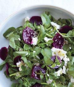 Watercress Salad With Beets and Feta | Raise the (salad) bar! With these crisp combos, it's easy to add greens to every meal.