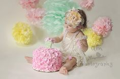 Cake Smash!   Utah Infant Photographer