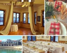 This provides individuals with a sufficient space for birthdays, and other Wedding Locations, Wedding Venues, Birthdays, Cozy, Weddings, Space, Beautiful, Home Decor, Wedding Reception Venues