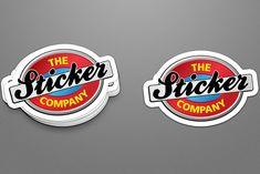 sticker branding mockup kreative mockups Best Sticker Mockup Design in PSD Format Files Logo Sticker, Sticker Design, Free Stickers, Custom Stickers, Label Sticker Printing, Billboard Mockup, Business Stickers, Presentation Design, Branding