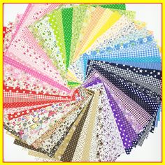 20cmx24cm 50pcs promotion cotton fabric patchwork floral series quilting bundle sewing tissue for fabric patchwork tilda fabric