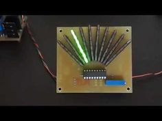 LED VU meter with LM3916 - YouTube Hobby Electronics, Electronics Projects, Outdoor Bowling, Audio, Led, Youtube, Beautiful, Metal Detector, Electronic Circuit