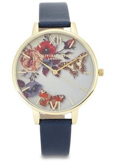Olivia Burton Watch. Mostly pinned this cause I share the name, the other part pinned cause its f-ing gorgeous.