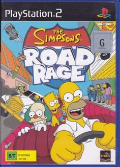 The-Simpsons-Road-Rage-Playstation-2-2001