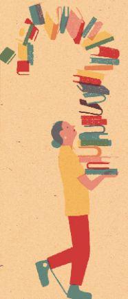 Books and readers - Blexbolex