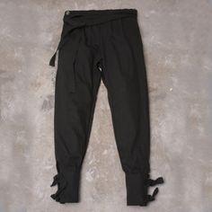 KP-401 NAGASAKI* BLACK X BLACK DENIM PANTS | The Common Folk