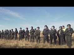 Peaceful Prayer Against Pipeline Met with Police Violence and Mass Arrests - YouTube