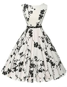 GRACE KARIN® Sleeveless Cotton Vintage Tea Dress with Belt. http://www.amazon.com/gp/product/B010RPDKUY/ref=as_li_tl?ie=UTF8&camp=1789&creative=9325&creativeASIN=B010RPDKUY&linkCode=as2&tag=pinvintage3-20&linkId=U2C5ZYN4IEQ6NMNE