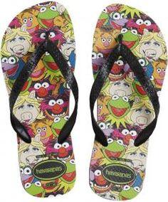 The Muppets Flip Flops