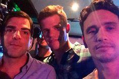 """James Franco e Zachary Quinto terão cena de sexo a três com ator de """"Teen Wolf"""" em novo filme - http://metropolitanafm.uol.com.br/novidades/famosos/james-franco-e-zachary-quinto-terao-cena-de-sexo-tres-com-ator-de-teen-wolf-em-novo-filme"""