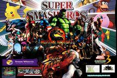 Mortal Kombat vs StreetFighter by HortonDesignKing.deviantart.com