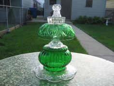 """Emerald Isle Queen""  Glass Garden Totem    A Carla Kanthak Creation"