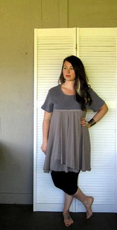20 off Eco upcycled clothing Romantic by lillienoradrygoods, $59.50