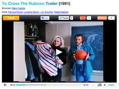 TO CROSS THE RUBICON Trailer: It's not every day someone finds a trailer of your first produced movie on Google! Silly fun...me and JD Souther and a couple of my costars from To Cross the Rubicon. #indiefilms #tocrosstherubicon #filmtrailers