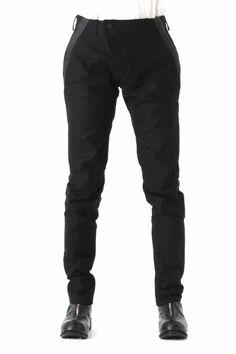Slim Pants Paraffin Heavy Cotton - Devoa