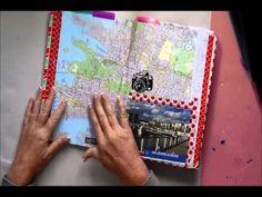 ▶ Australia Travel Journal - Flip - YouTube   really beautiful travel journal