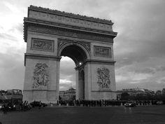 Arco do Triunfo - Paris - Foto: Arquiteta Cláudia F. Ferreira