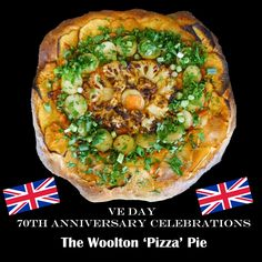 Farmersgirl Kitchen: The Woolton Pizza Pie for VE Day 70th Anniversary Celebrations