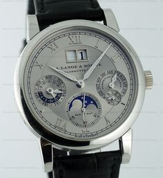 Yummy!! A. Lange & Sohne Watch, Langematik Perpetual Calendar, Reference 310.025 in Platinum.....