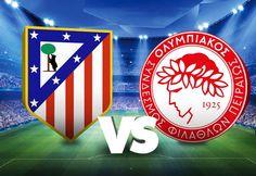 Champions League: Atletico Madrid vs Olympiacos