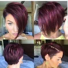 Discover the Best Short Hair Styles That You Can Adopt For The New Season New Hairstyle Trends Cool Short Hairstyles, Pixie Hairstyles, Bob Haircuts, Short Hair Cuts, Short Hair Styles, Red Pixie Cuts, Short Hair Hacks, Short Red Hair, Haircut And Color