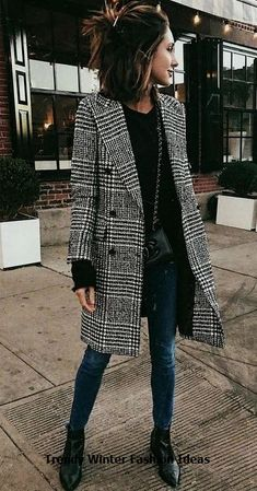 Fashion Tips 2019 Winter Fashion - 45 Fall Outfits For Women Youll Want To Copy This Year.Fashion Tips 2019 Winter Fashion - 45 Fall Outfits For Women Youll Want To Copy This Year Casual Winter Outfits, Winter Fashion Outfits, Look Fashion, Autumn Winter Fashion, Outfit Winter, Fashion Clothes, Fashion 2018, Fashion Dresses, Spring Outfits