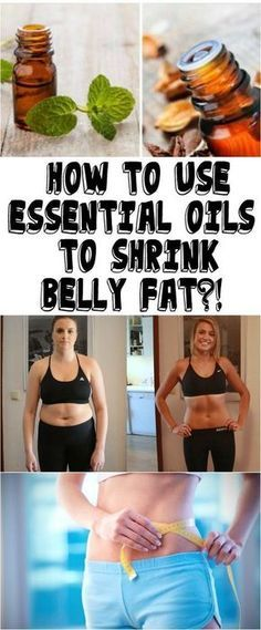HOW TO USE ESSENTIAL OILS TO SHRINK BELLY FAT?!