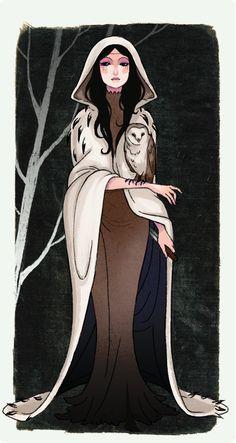 Reina Morgana, primera Reina de la Magia