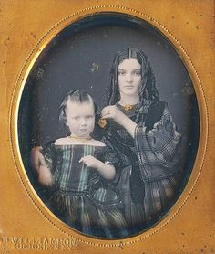 Beautiful daguerreotype by the Williamson Brothers of Brooklyn (via Dennis A. Waters Fine Daguerreotypes)